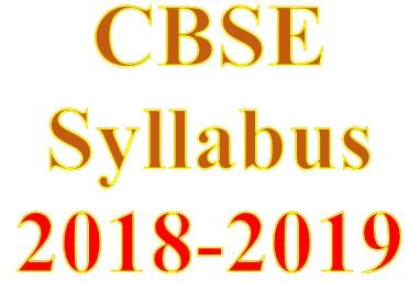 cbse class 10 syllabus 2019-19