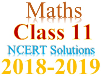 NCERT Solutions for Class 11 Maths in PDF form (Session 2018-19)