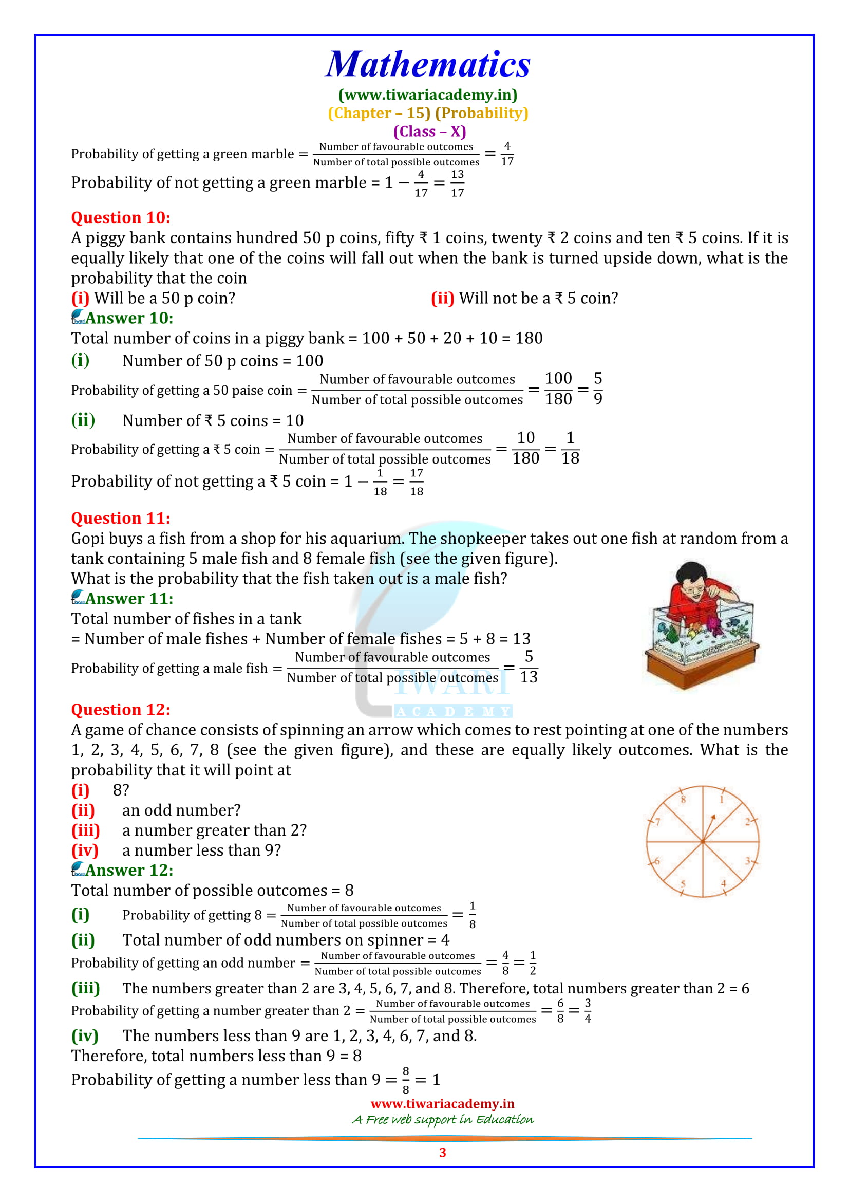 NCERT Solutions for Class 10 Maths Chapter 15 Exercise 15.1 updated for 2018-19