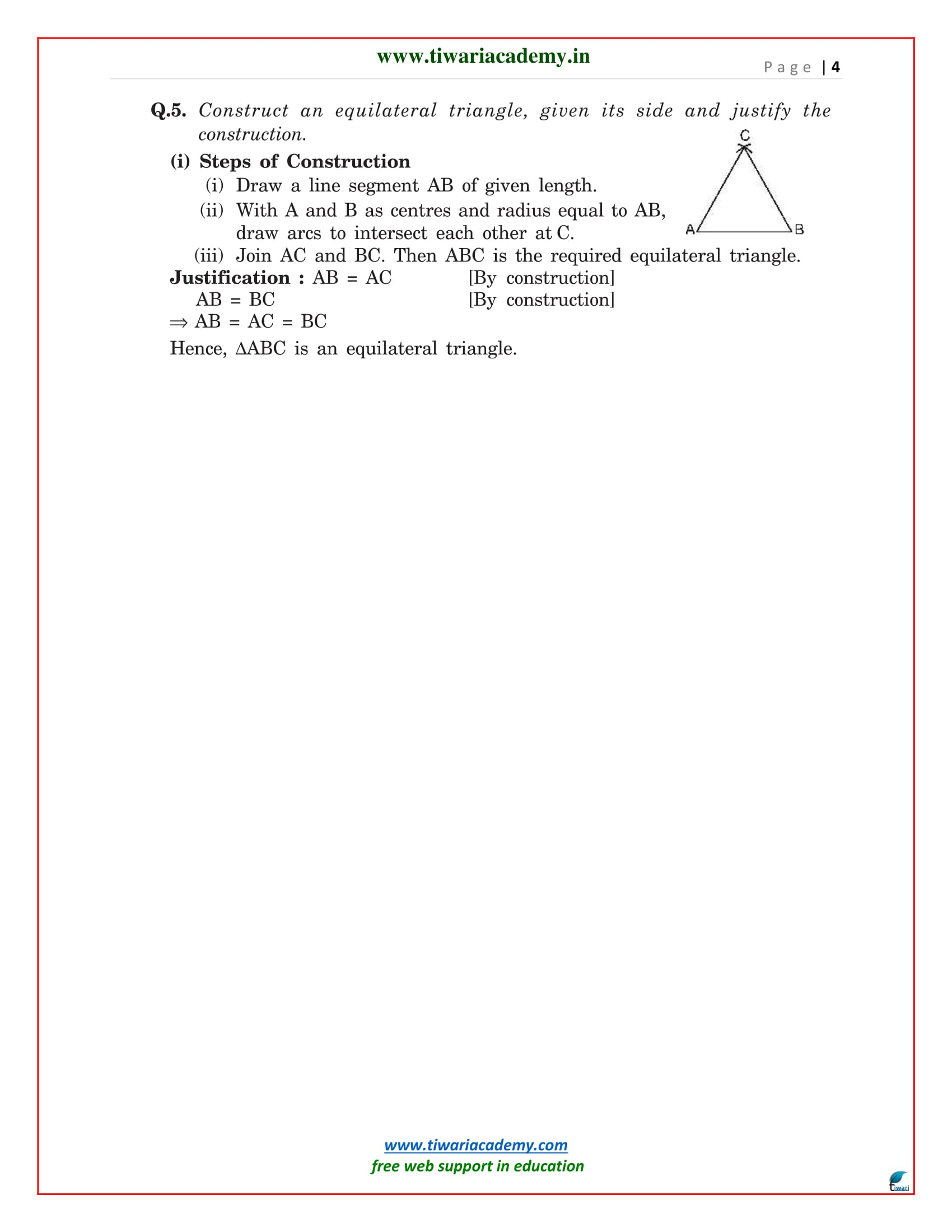 class 9 maths chapter 11.1