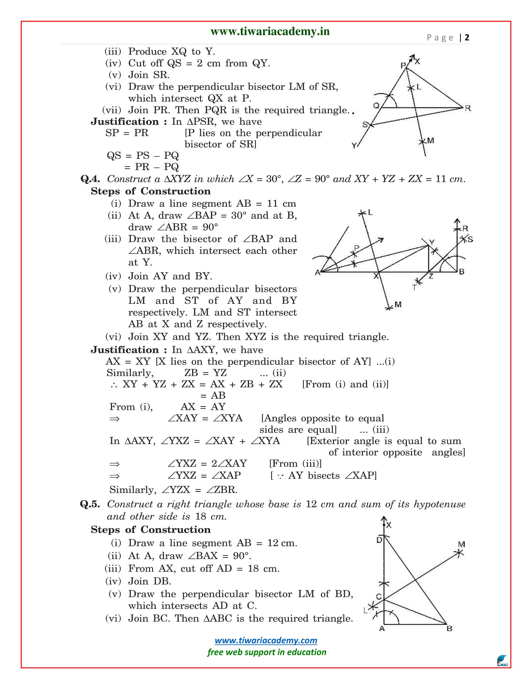 class 9 maths exercise 11.2 solutions