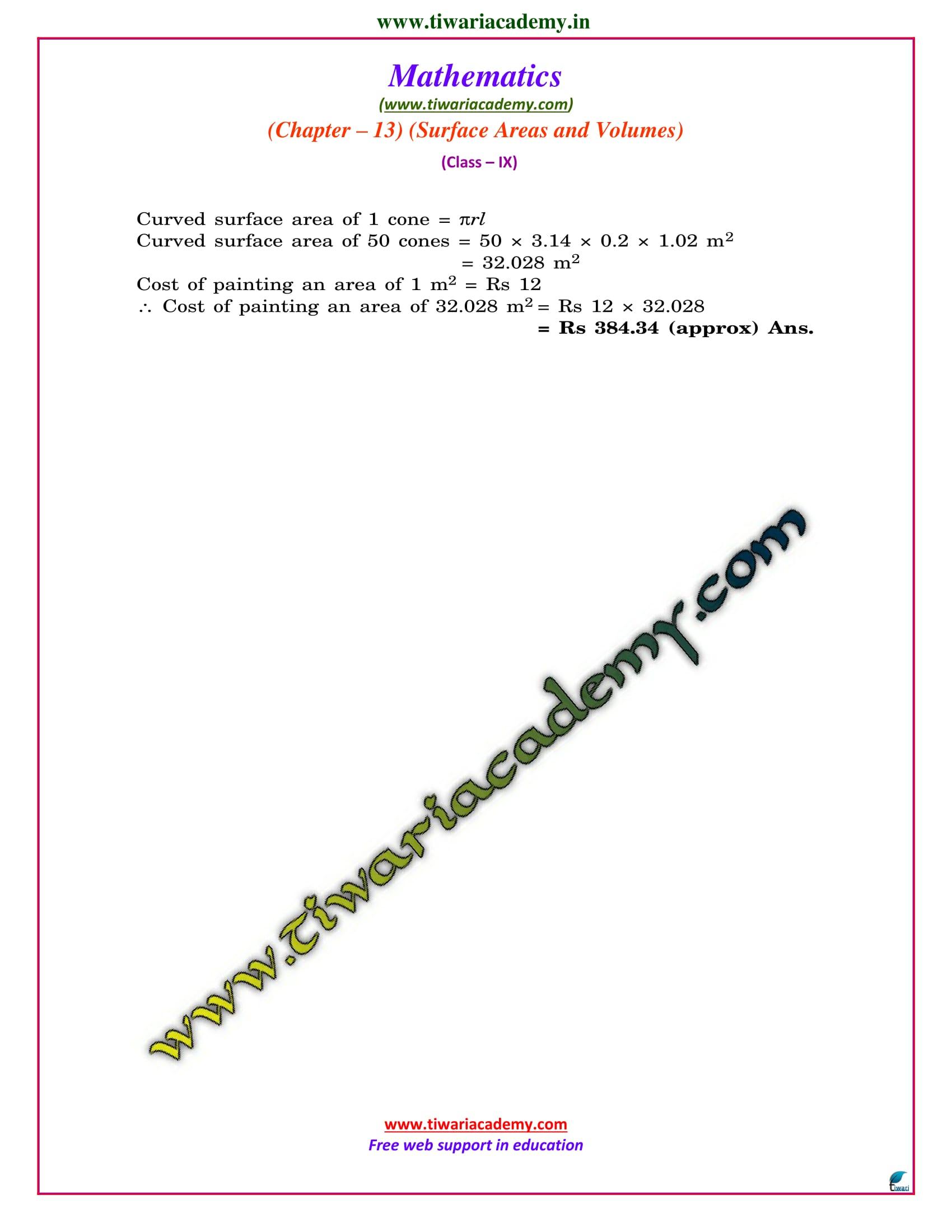 9 maths chapter 13.3 ncert solution