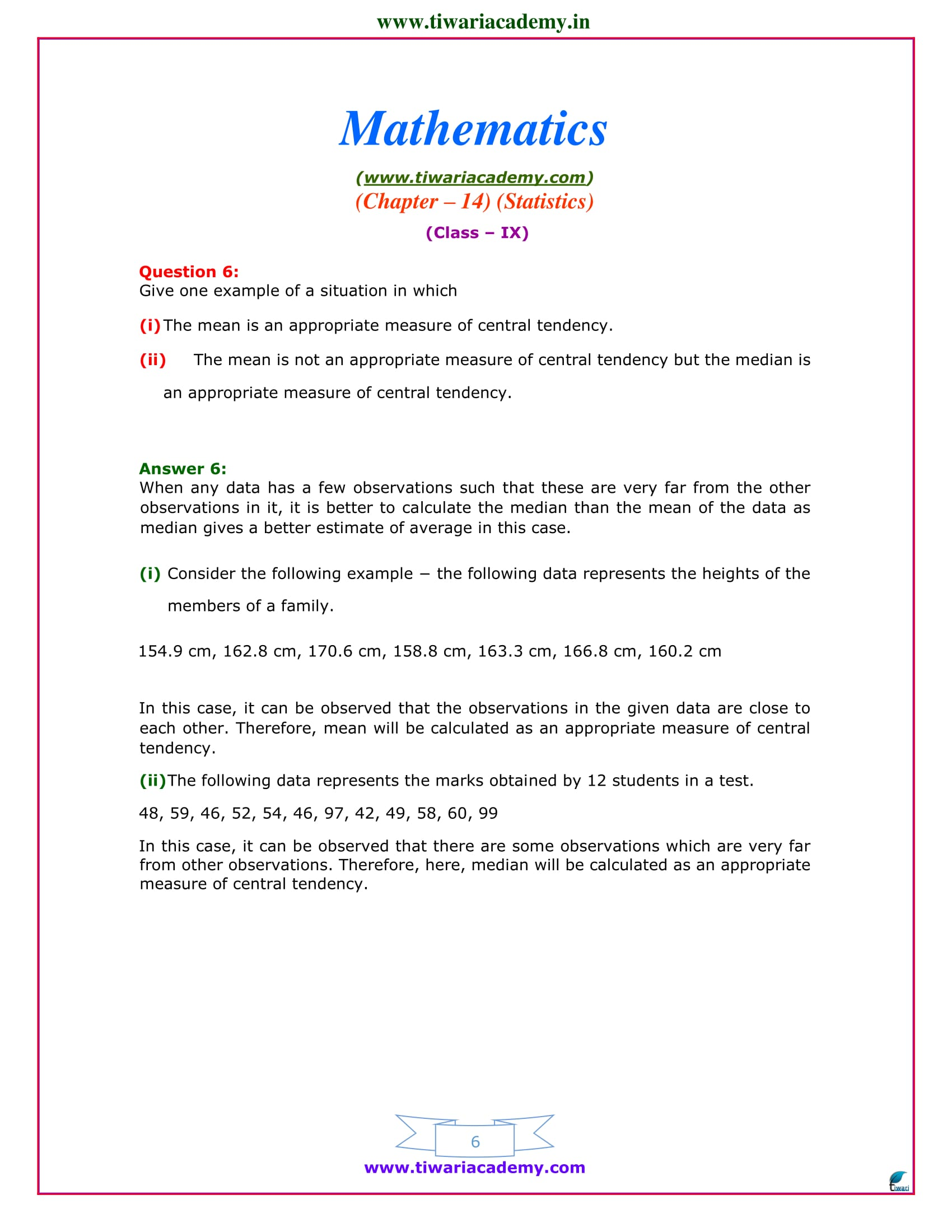 9 maths solutions exercise 14.4