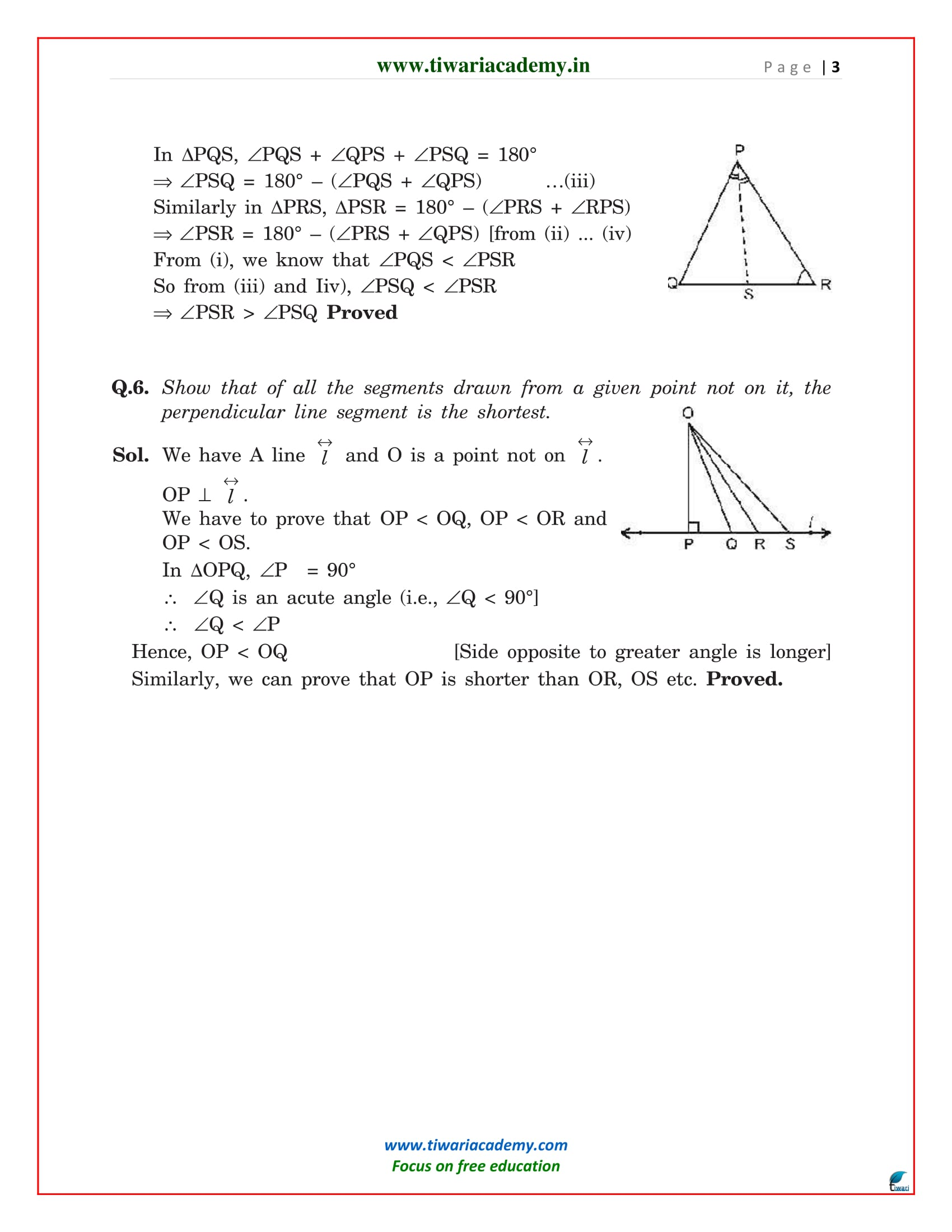 chapter 7 exercise 7.4 of class 9 maths solutions