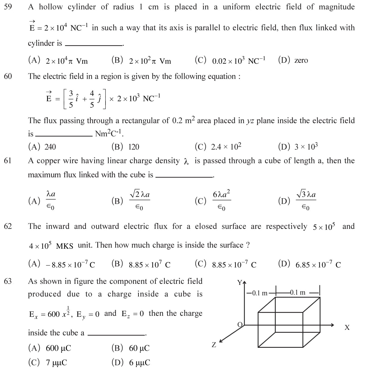 Class 12 Physics Chapter 1 NEET, JEE Mains - 13