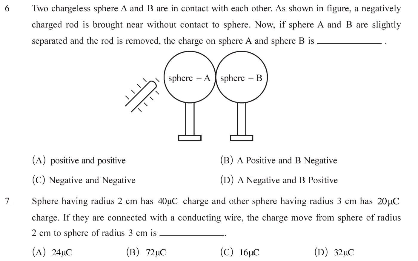 Class 12 Physics Chapter 1 NEET, JEE Mains - 2