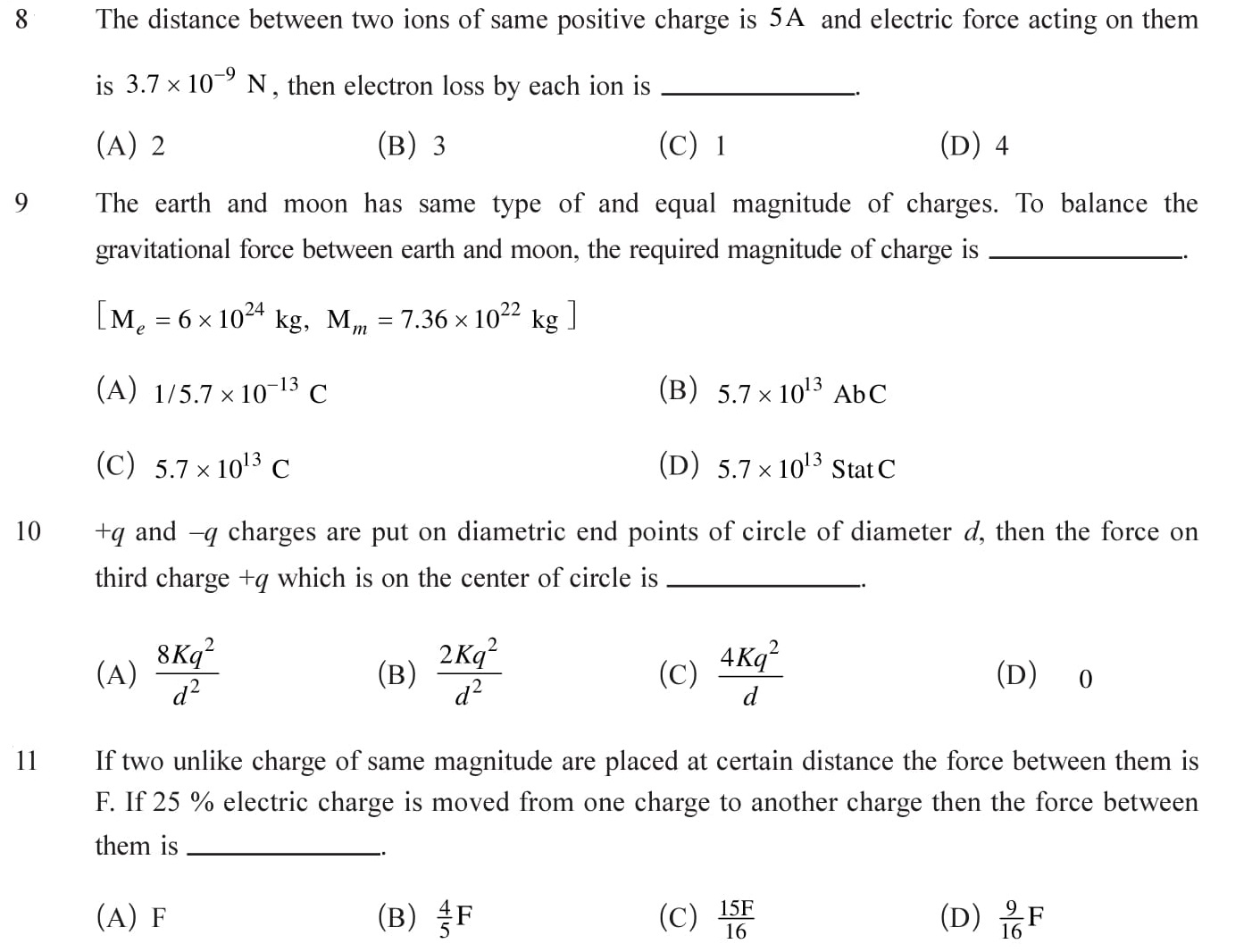 Class 12 Physics Chapter 1 NEET, JEE Mains - 3