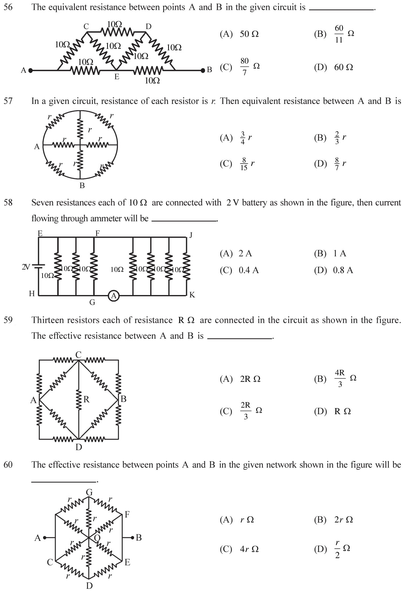 NEET-JEE-IIT-Questions-Current-Electricity-Topic-10
