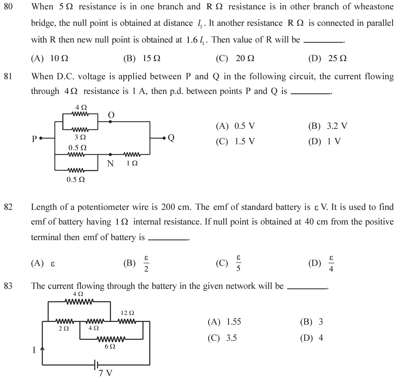 NEET-JEE-IIT-Questions-Current-Electricity-Topic-15