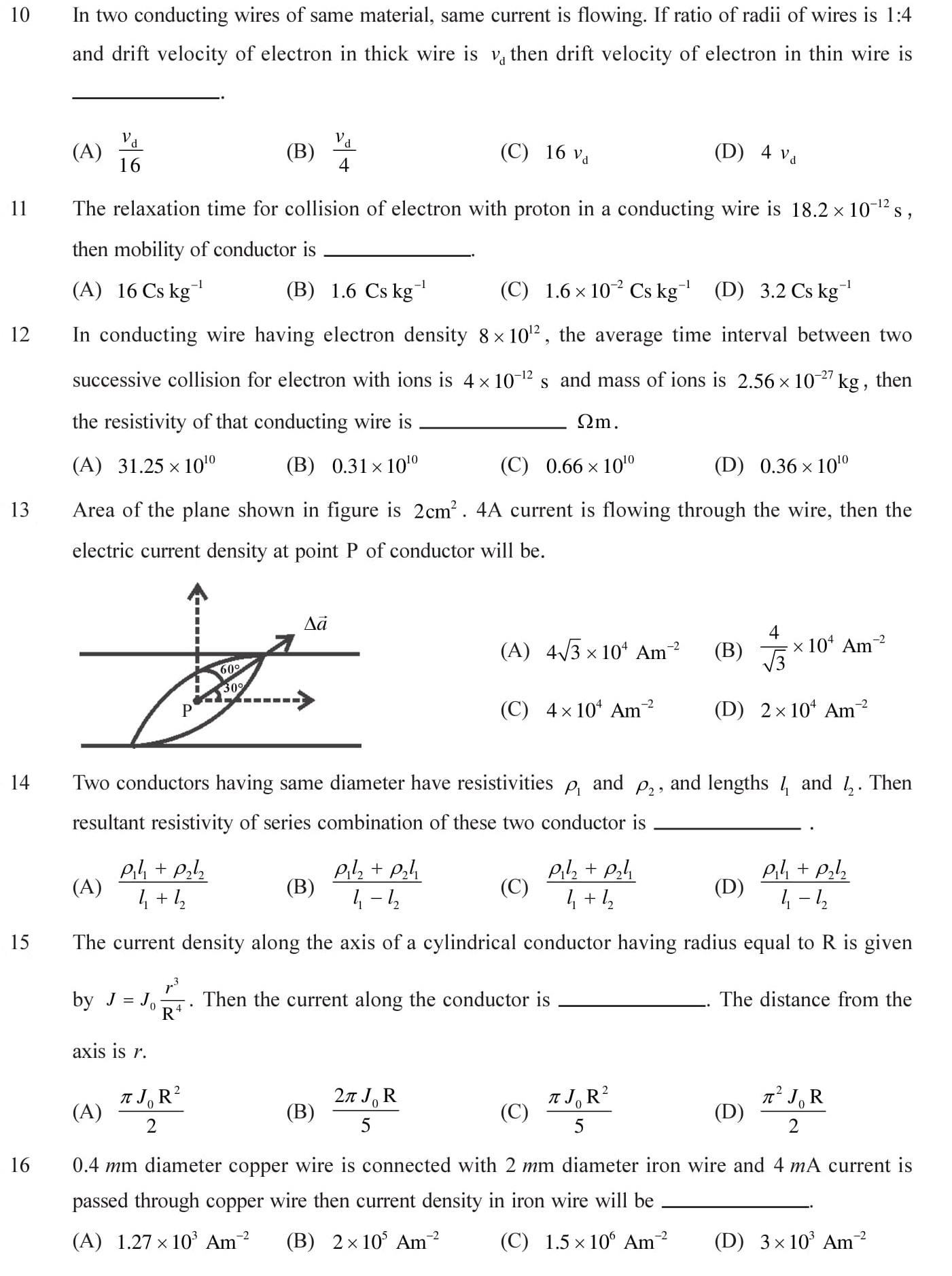 NEET-JEE-IIT-Questions-Current-Electricity-Topic-3