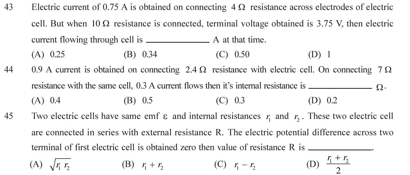 NEET-JEE-IIT-Questions-Current-Electricity-Topic-7