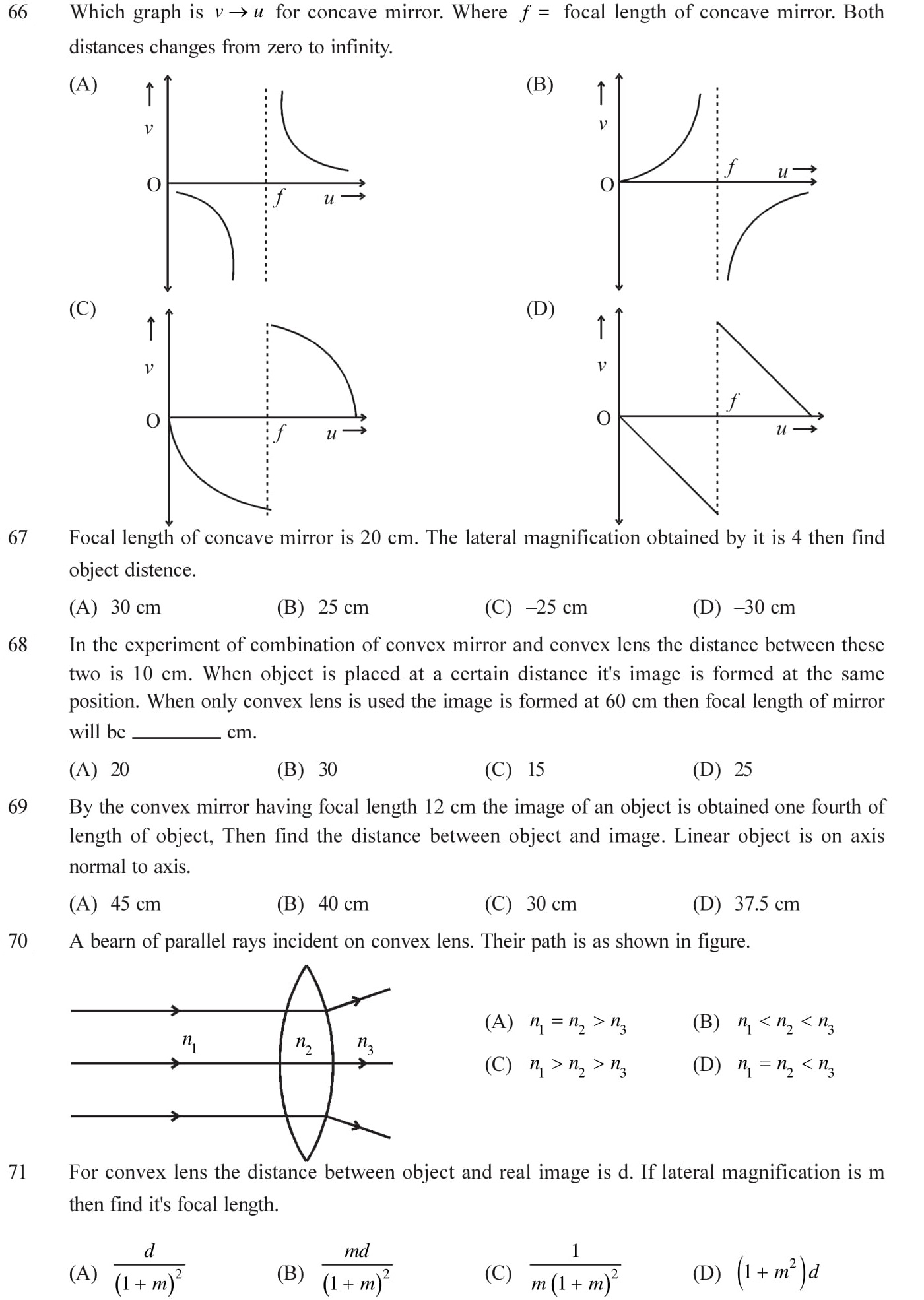 More questions on wave optices with answers