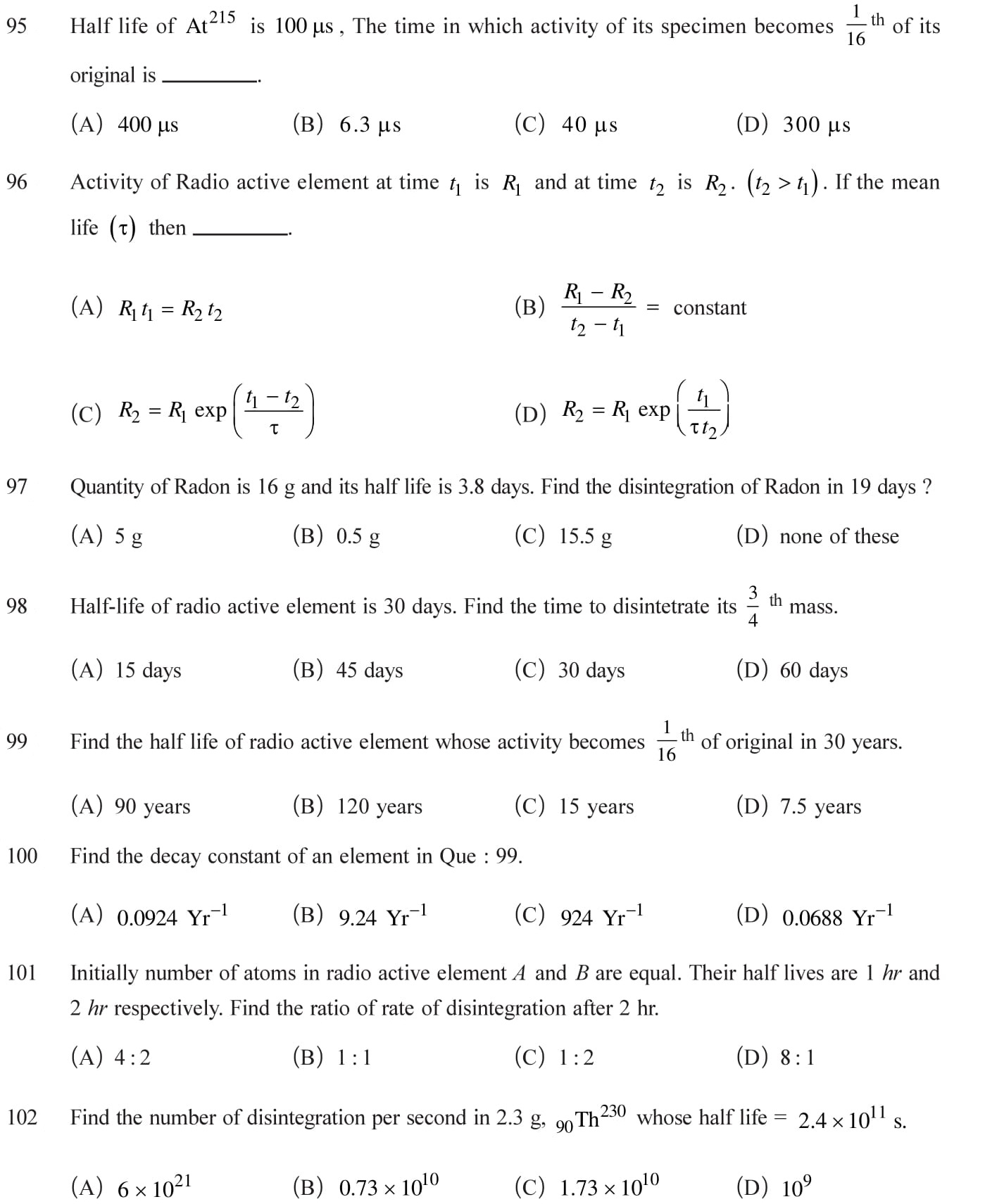 12 Physics Chapter 13 questions for practice with solutions