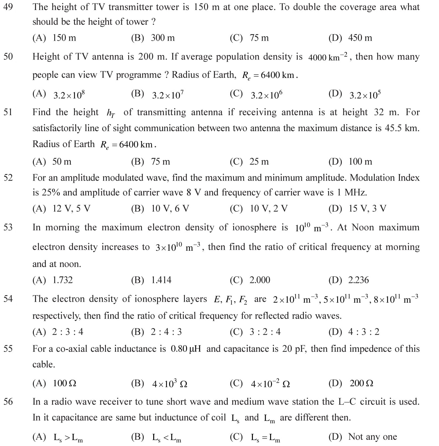 12 Physics chapter 15 communication extra questions with answers